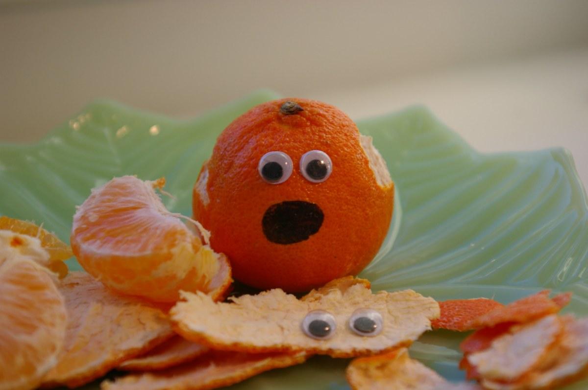 Clementine peeling