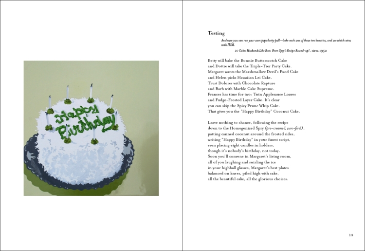 Chapbook interior pages